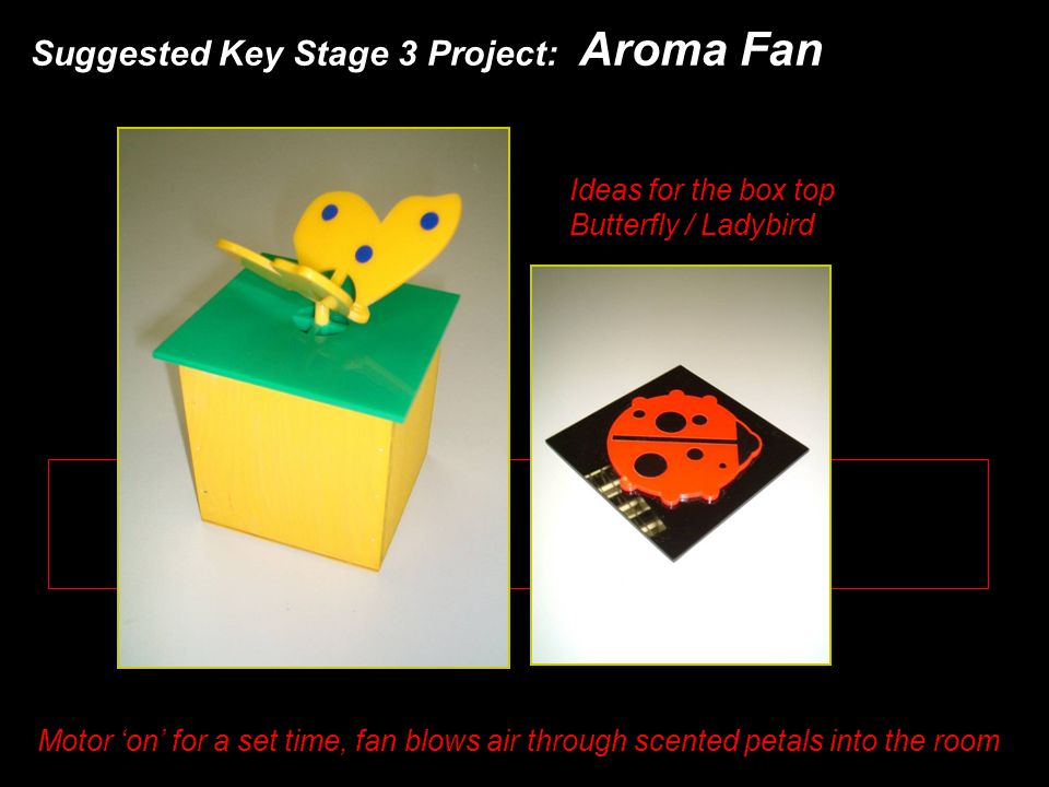 Suggested Key Stage 3 Project: Aroma Fan