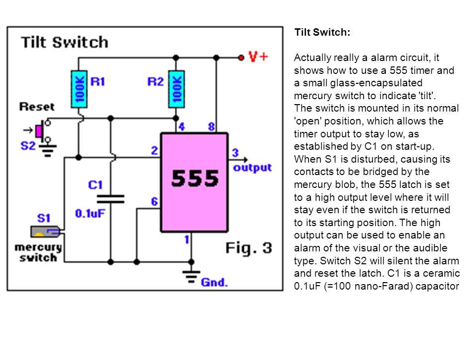 Tilt Switch: