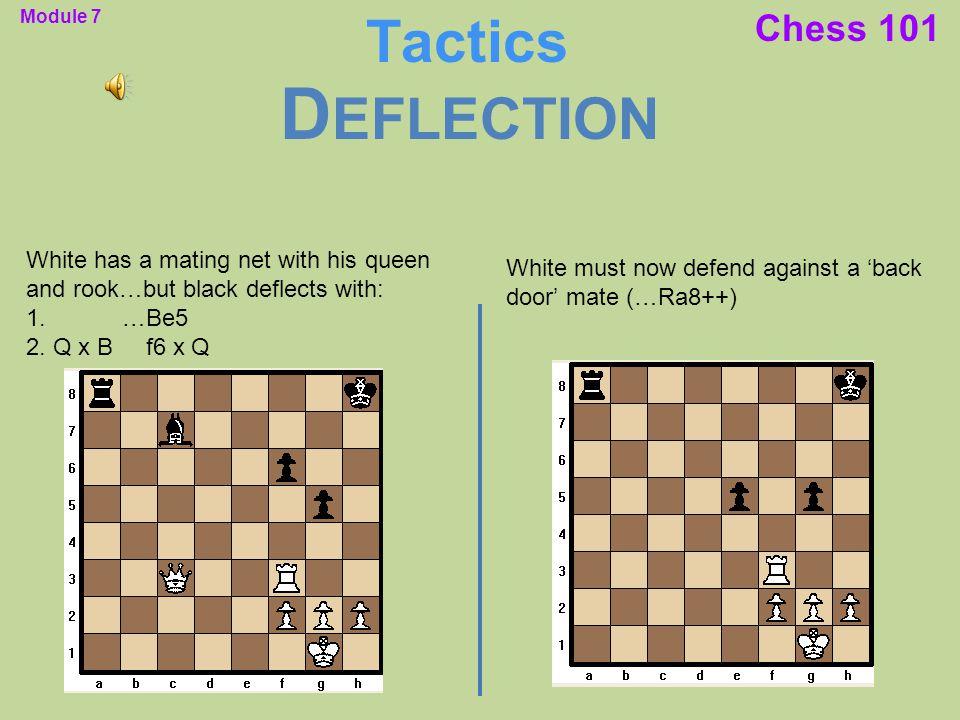 Deflection Tactics Chess 101
