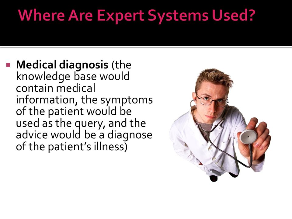 Where Are Expert Systems Used