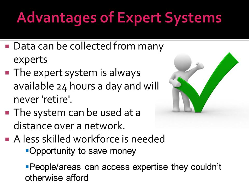 Data can be collected from many experts