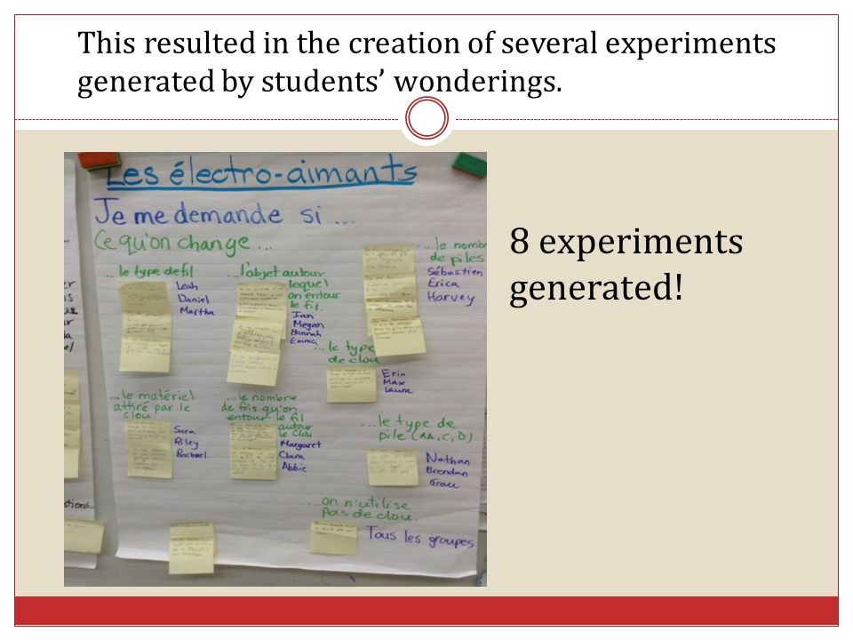 8 experiments generated!