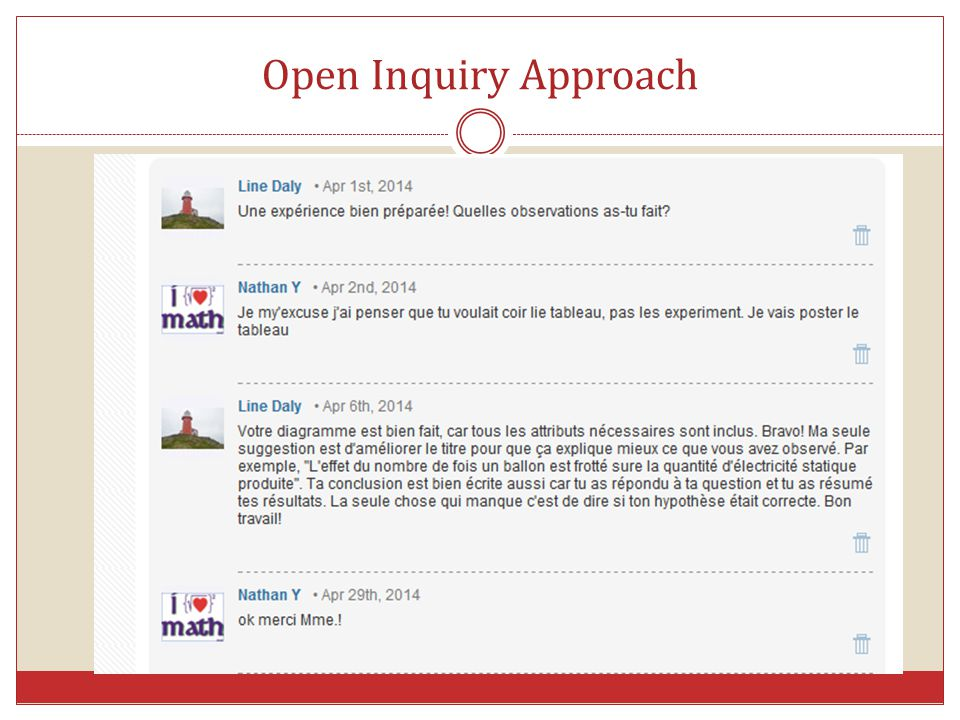 Open Inquiry Approach