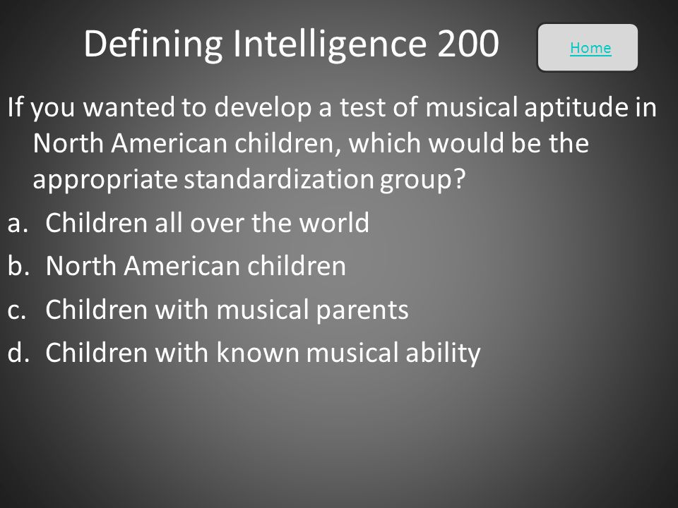 Defining Intelligence 200