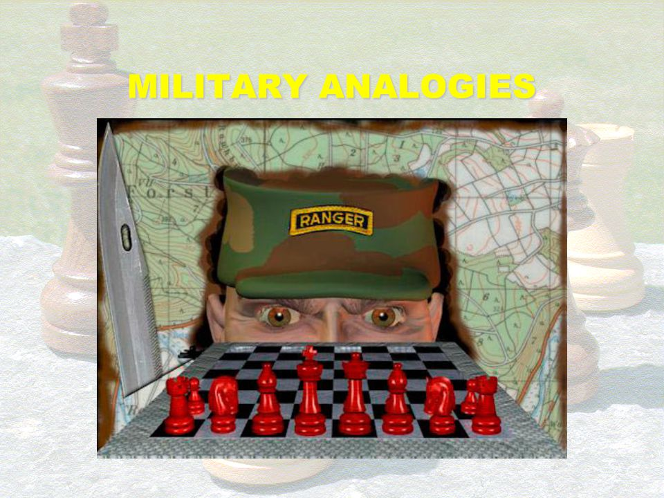 MILITARY ANALOGIES