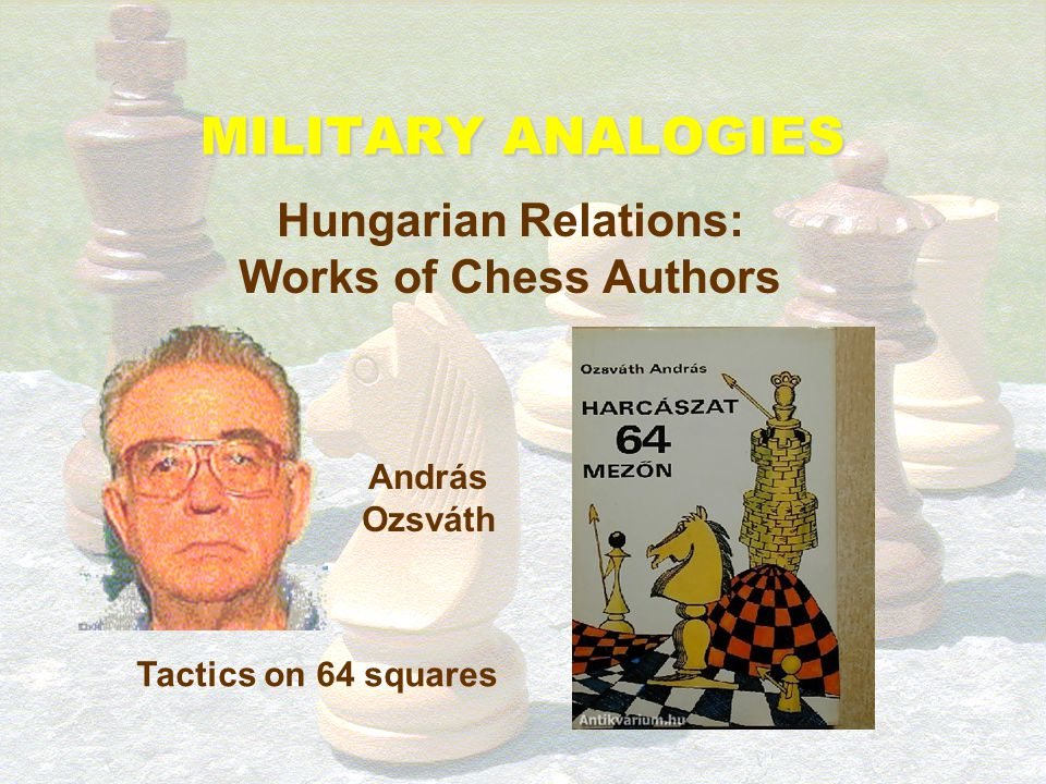 Hungarian Relations: Works of Chess Authors
