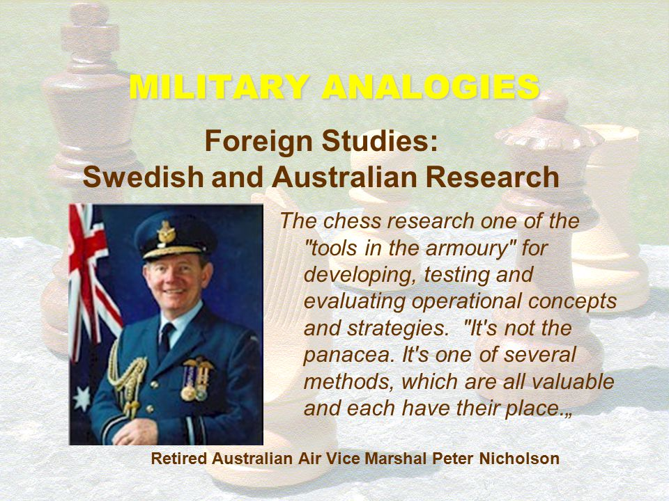 Foreign Studies: Swedish and Australian Research