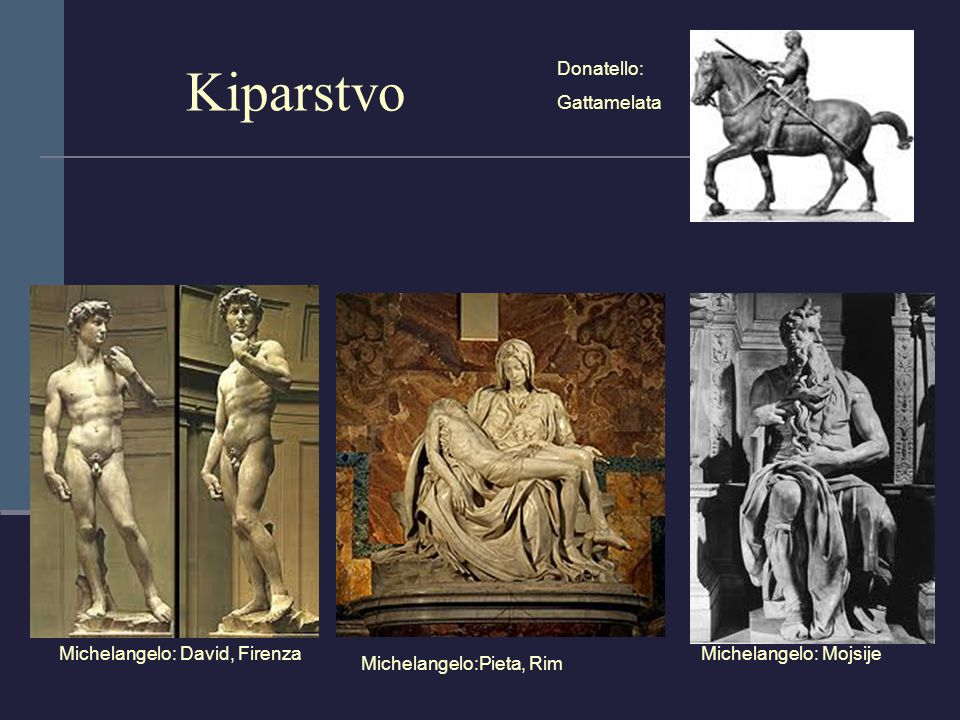Michelangelo: David, Firenza