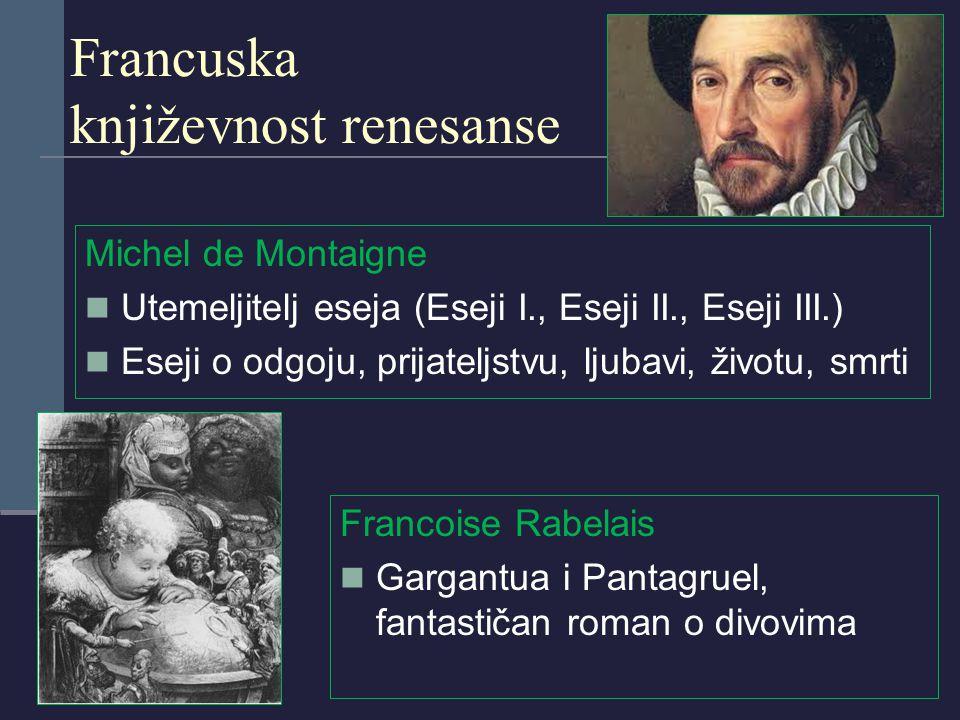 Francuska književnost renesanse