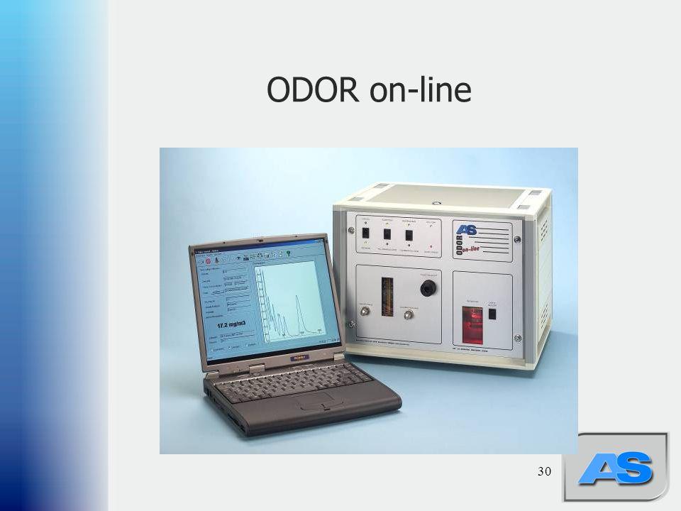 ODOR on-line