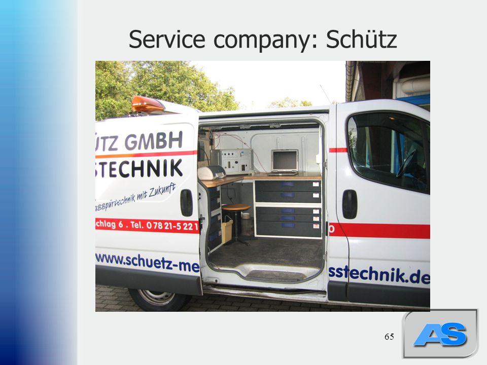 Service company: Schütz