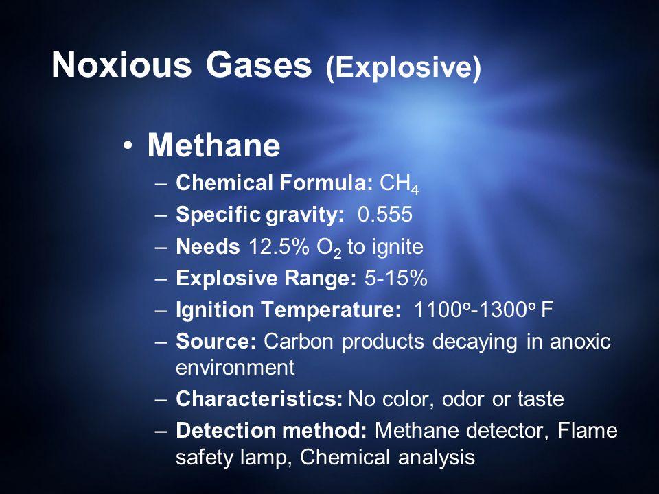 Noxious Gases (Explosive)