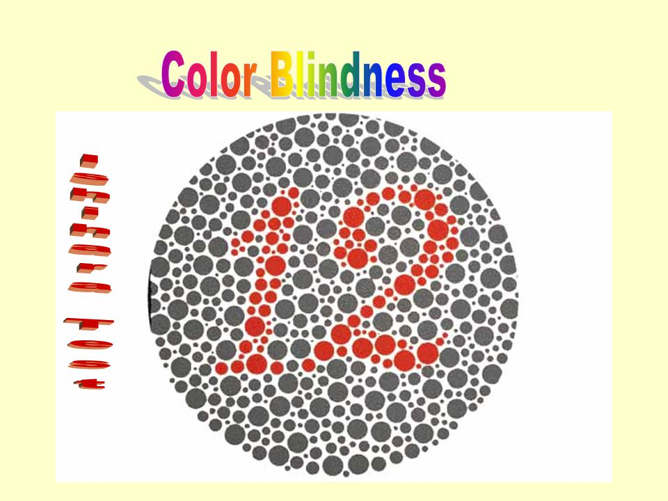 Color Blindness Ishihara Test