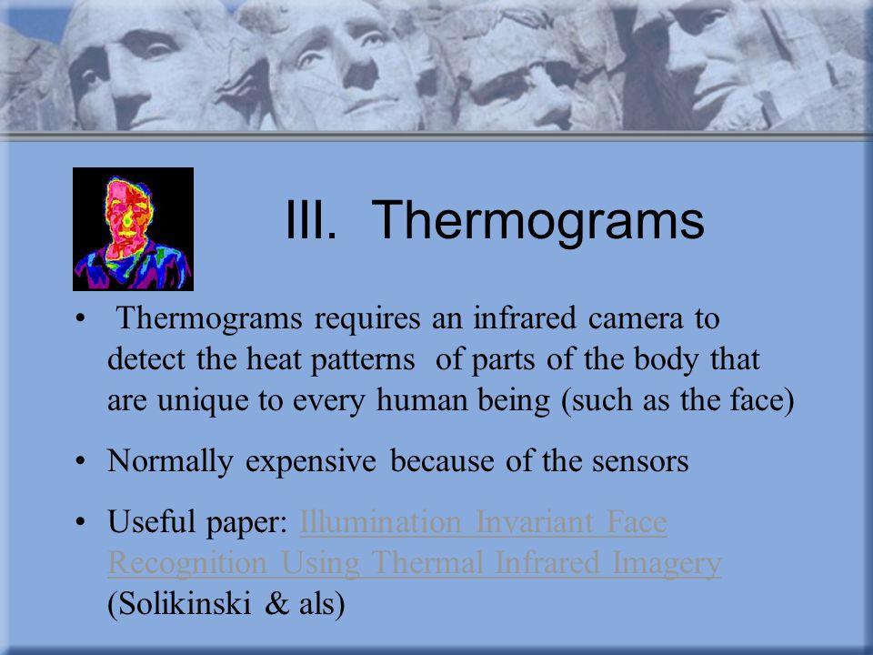 III. Thermograms