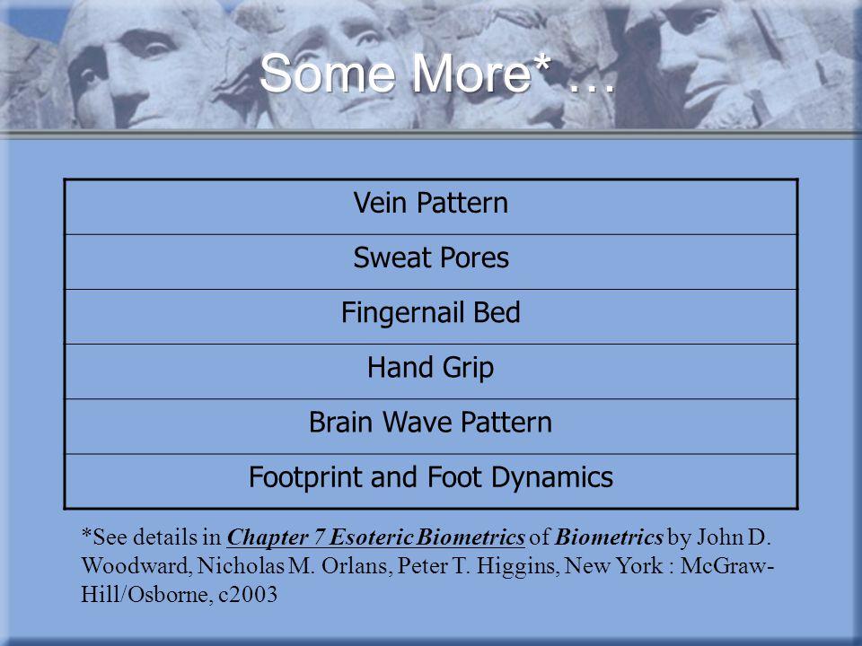 Footprint and Foot Dynamics