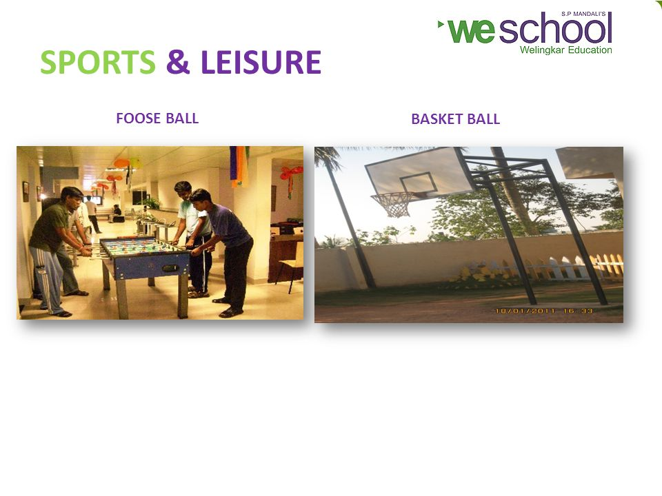 SPORTS & LEISURE FOOSE BALL BASKET BALL