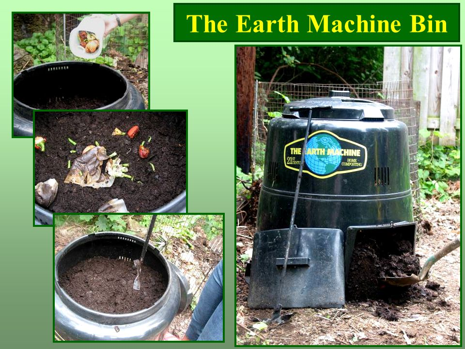 The Earth Machine Bin