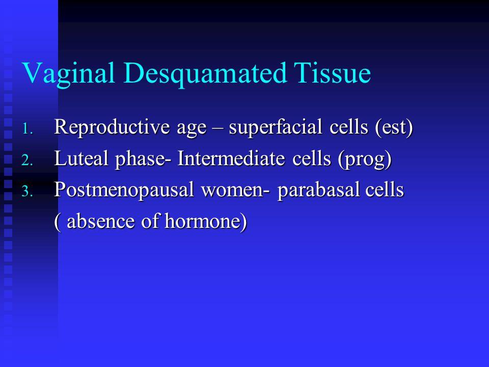 Vaginal Desquamated Tissue