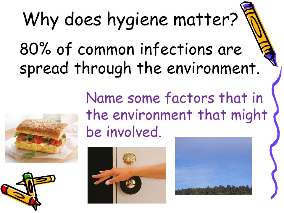 Why does hygiene matter