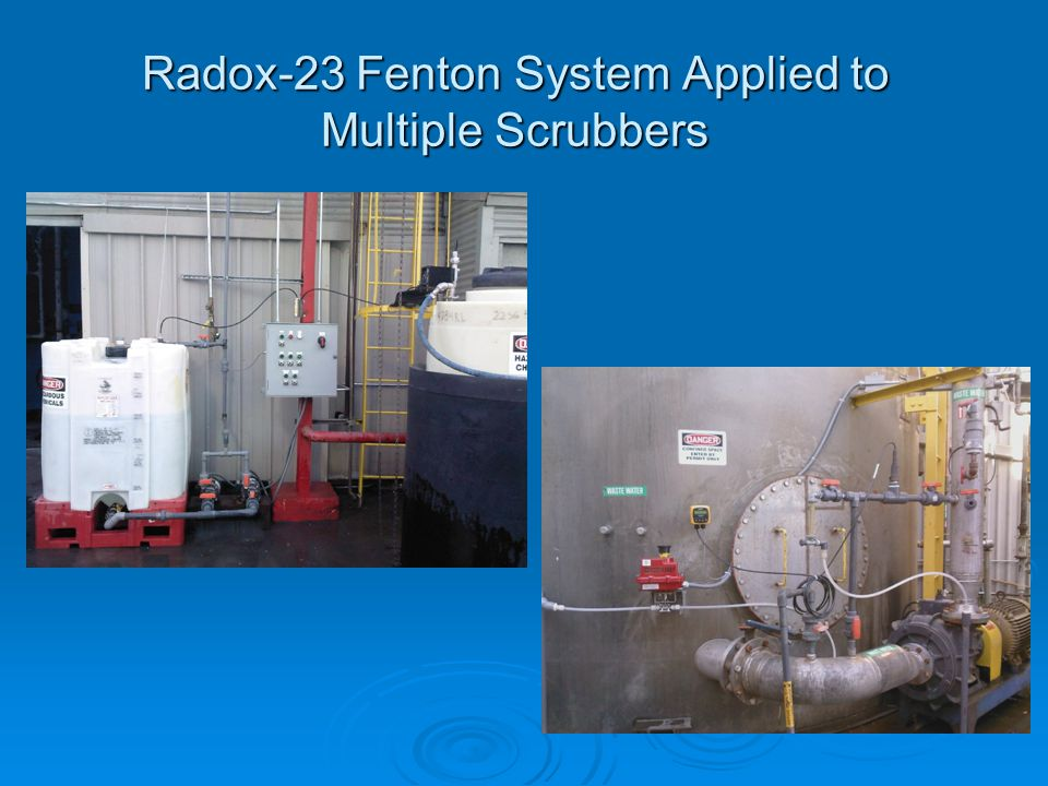 Radox-23 Fenton System Applied to Multiple Scrubbers