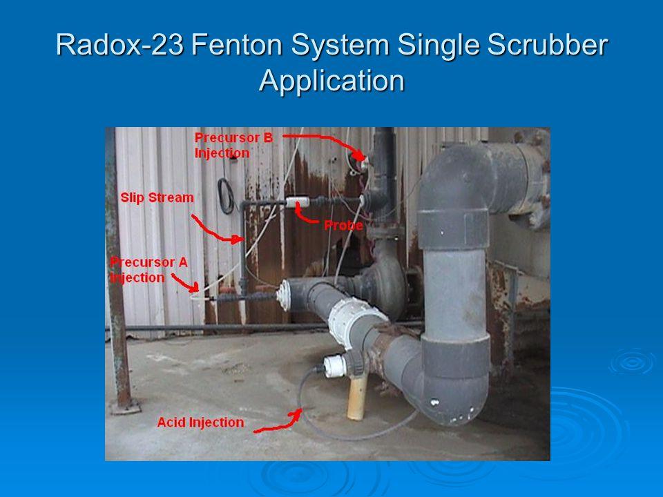 Radox-23 Fenton System Single Scrubber Application