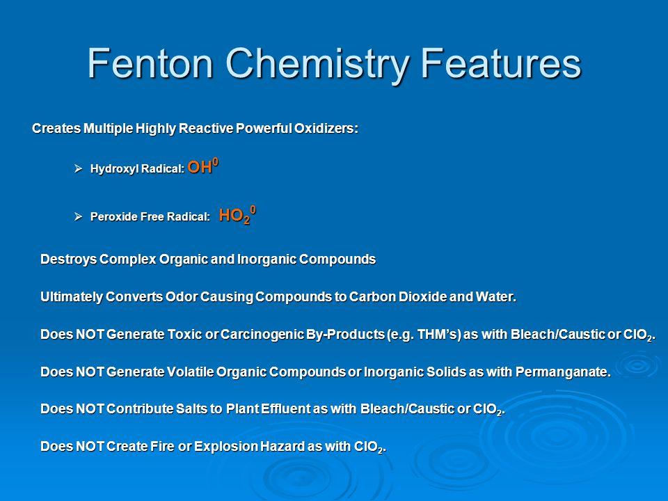 Fenton Chemistry Features