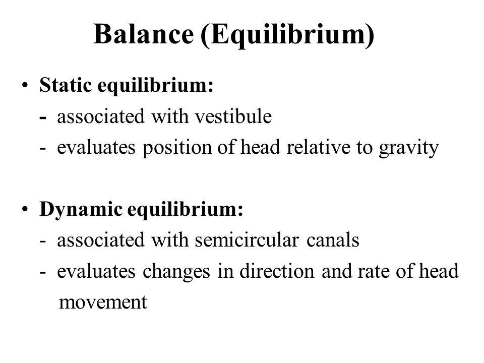 Balance (Equilibrium)
