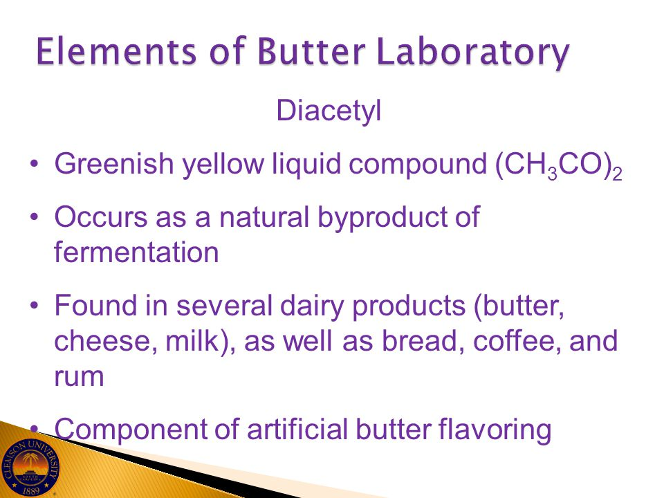Elements of Butter Laboratory