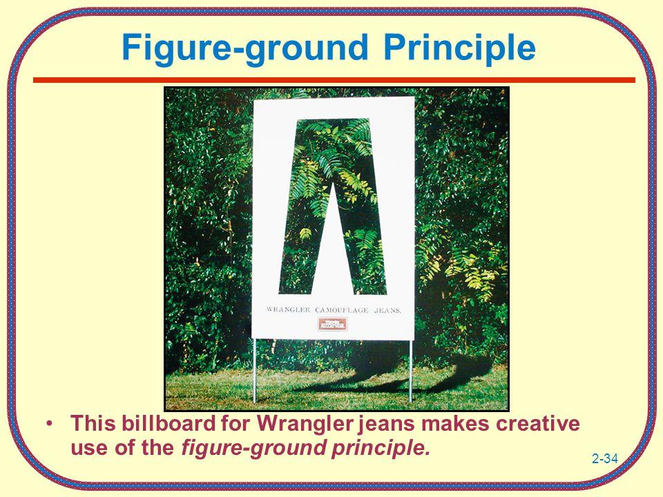 Figure-ground Principle