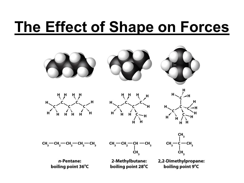 The Effect of Shape on Forces