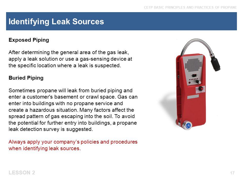 Identifying Leak Sources