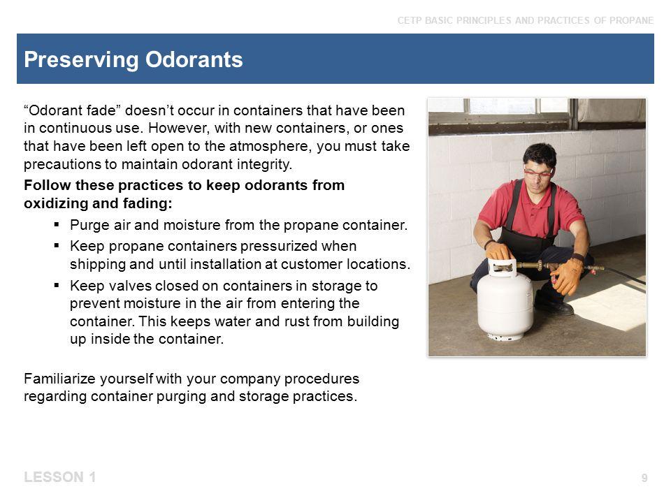 Preserving Odorants