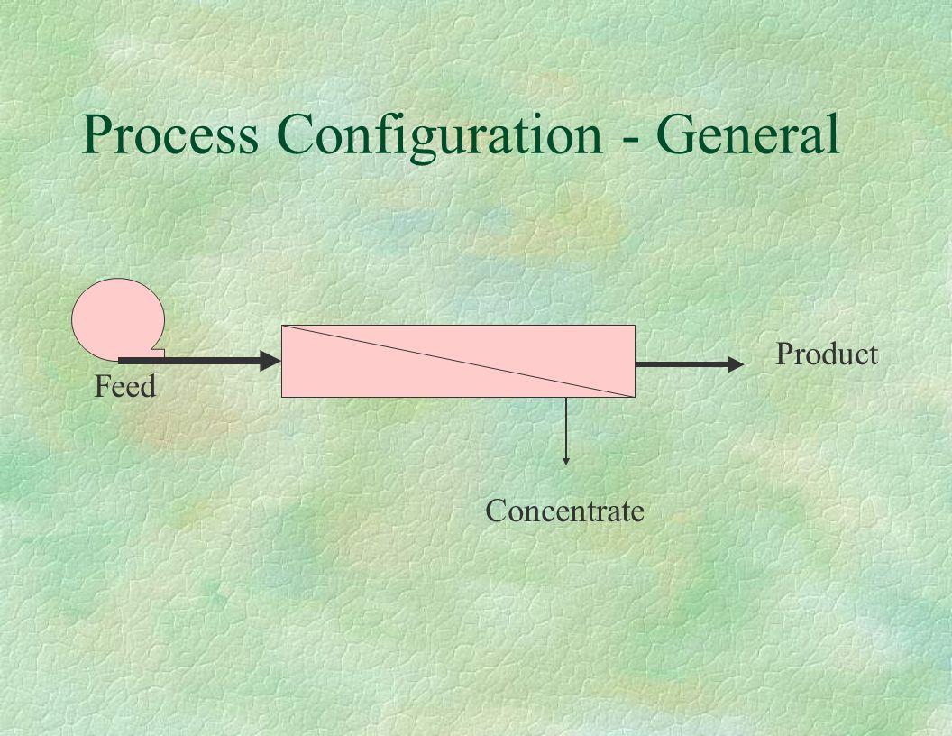 Process Configuration - General
