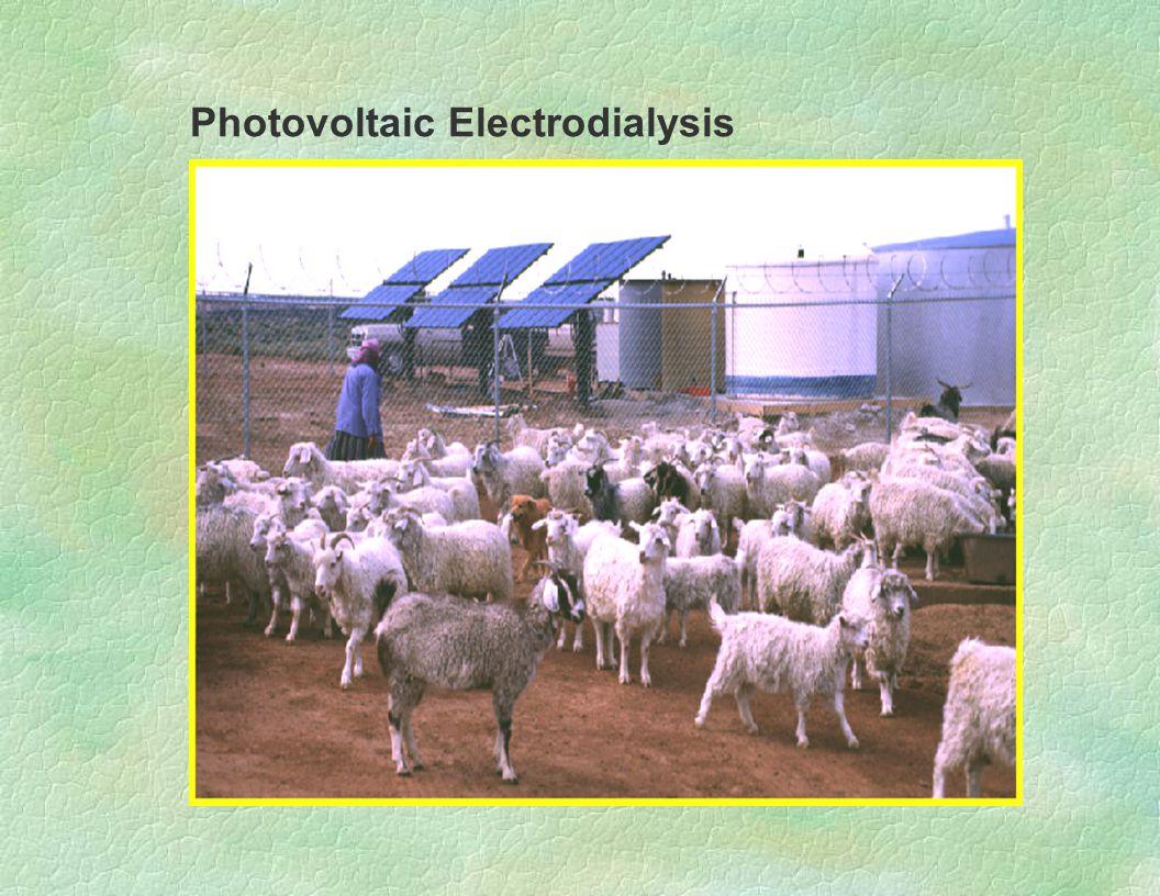 Photovoltaic Electrodialysis