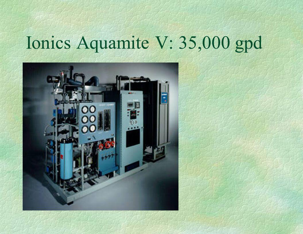 Ionics Aquamite V: 35,000 gpd