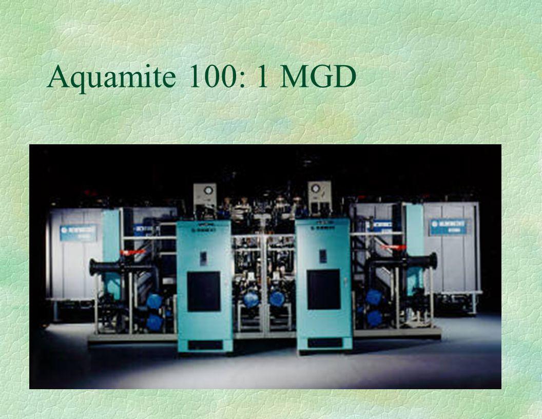 Aquamite 100: 1 MGD