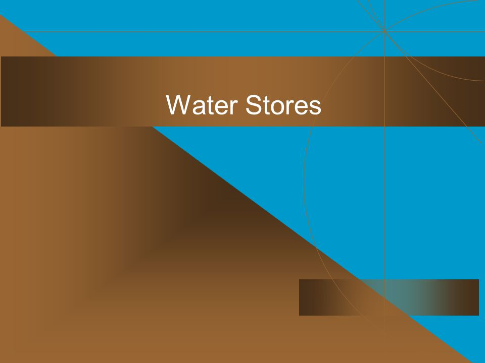 Water Stores