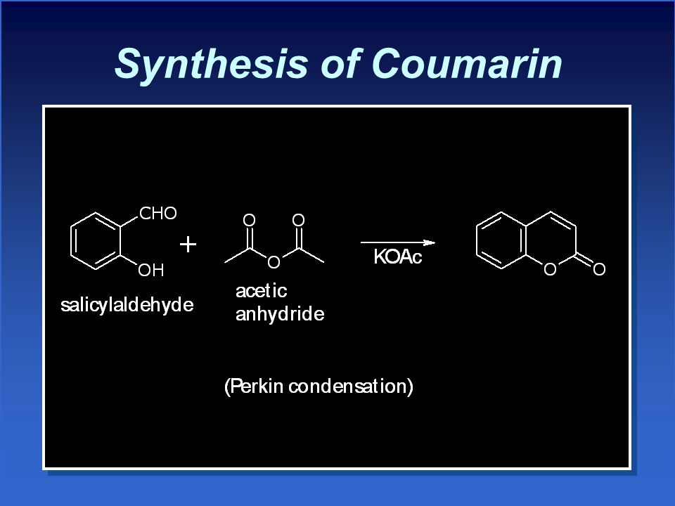 Synthesis of Coumarin