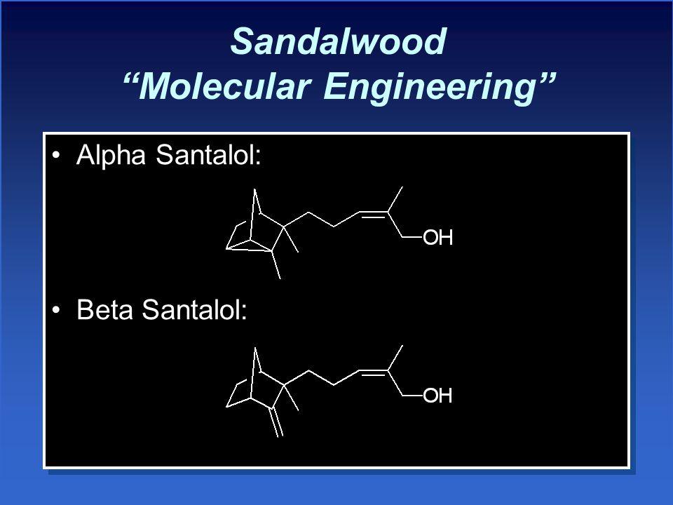 Sandalwood Molecular Engineering