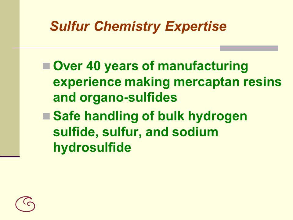 Sulfur Chemistry Expertise