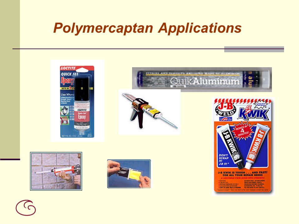 Polymercaptan Applications