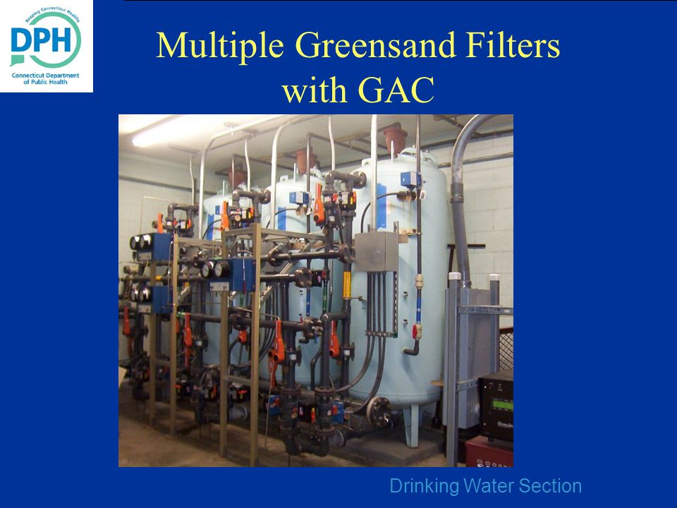 Multiple Greensand Filters with GAC