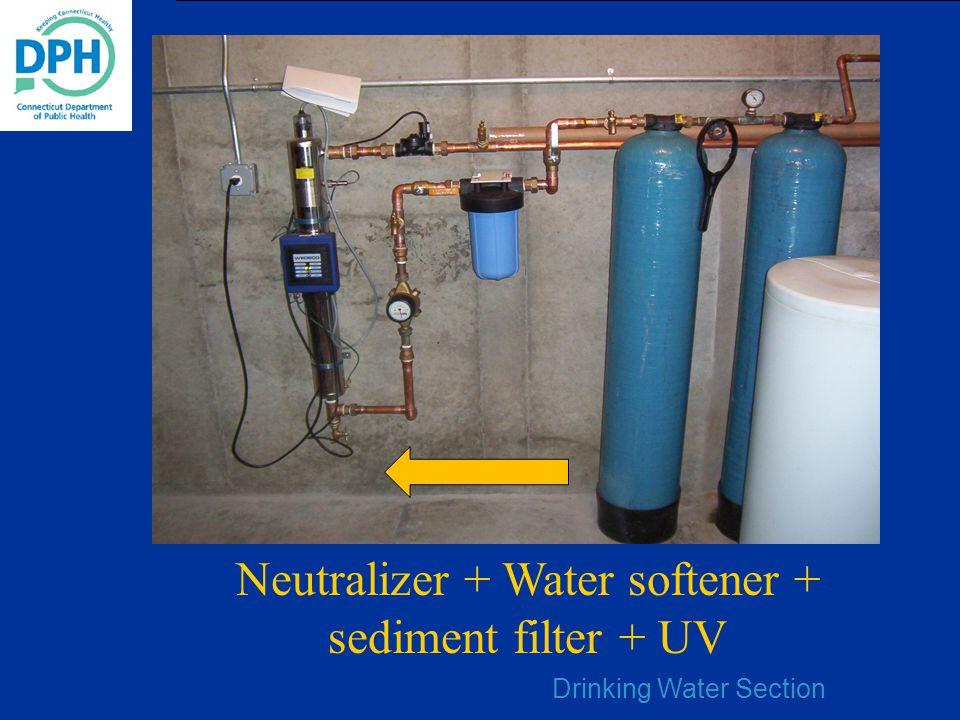 Neutralizer + Water softener + sediment filter + UV