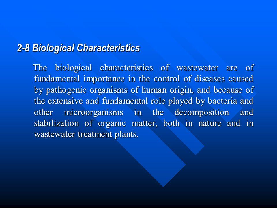 2-8 Biological Characteristics