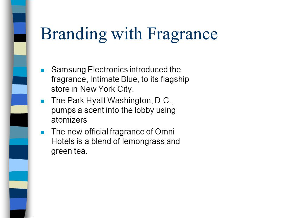 Branding with Fragrance