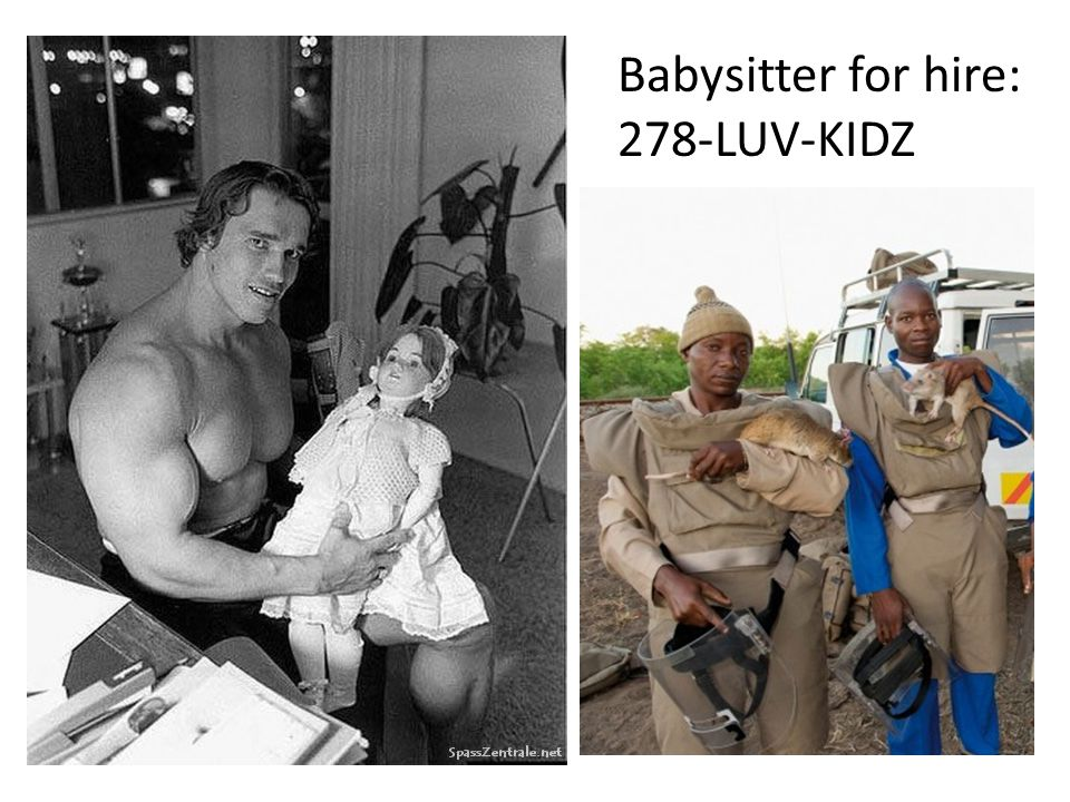 Babysitter for hire: 278-LUV-KIDZ