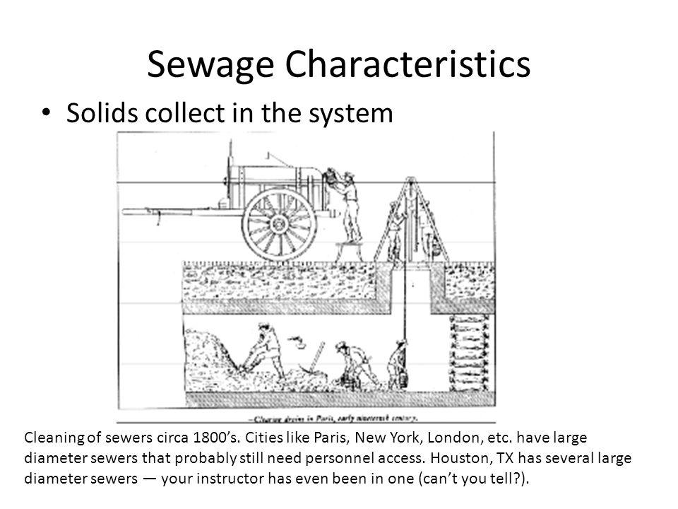 Sewage Characteristics