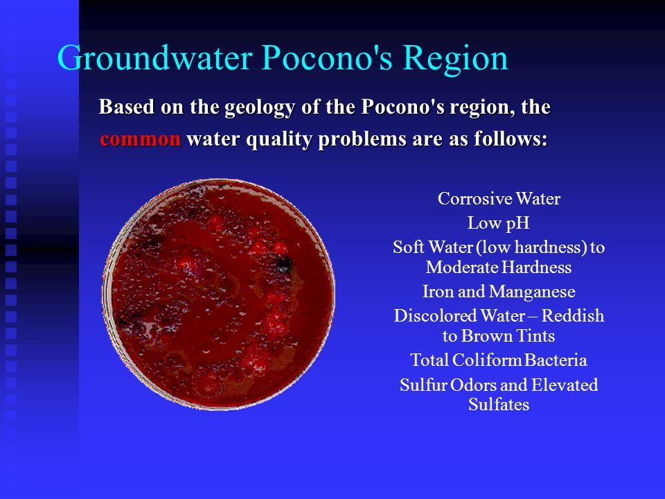 Groundwater Pocono s Region