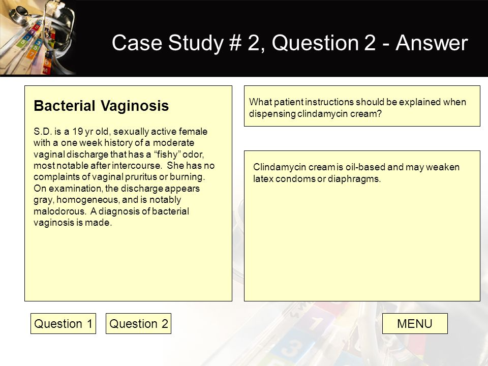 Case Study # 2, Question 2 - Answer