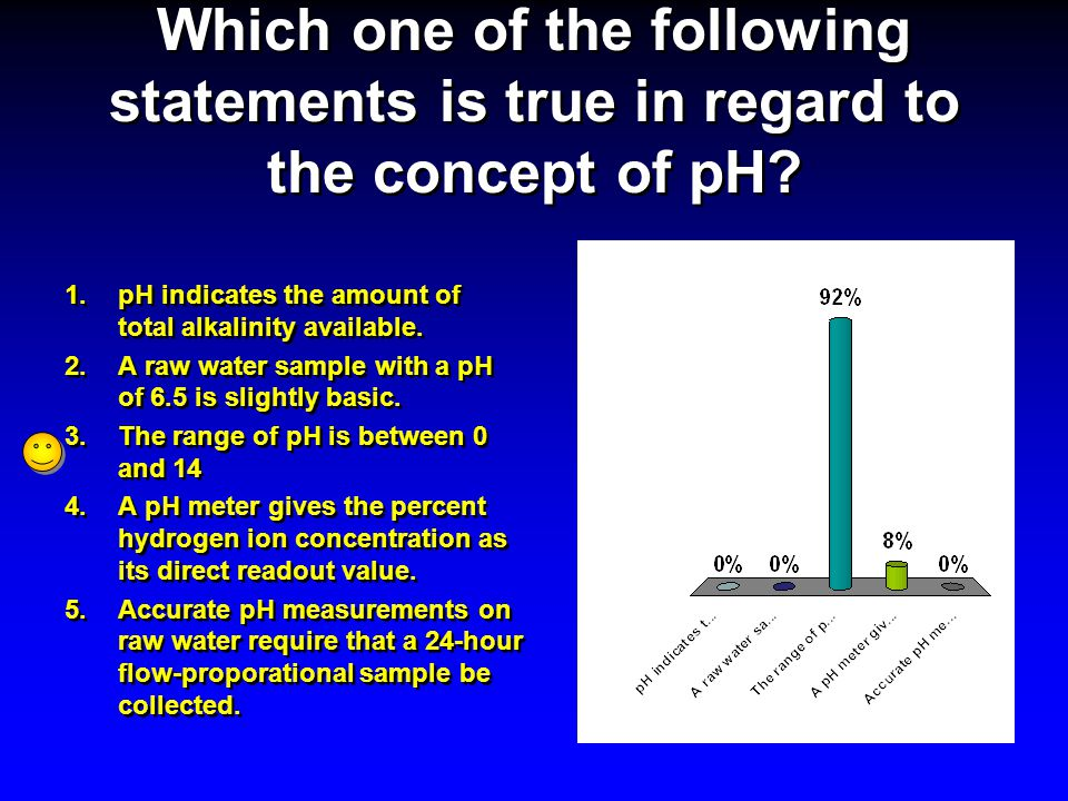 Which one of the following statements is true in regard to the concept of pH
